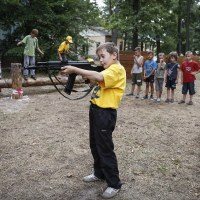 The American sponsored Neo-Nazi Azov unit prepares child soldiers for war