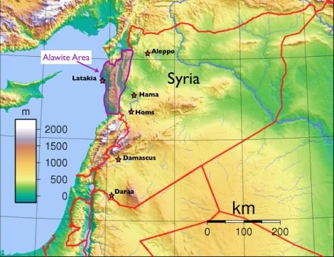 Alawite-map