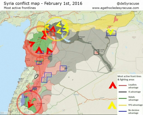 the rumored spring offensive in syria is now unleashed the four clear objectives are