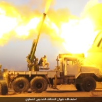 The Islamic State going DIY, 122mm D-30 howitzers used as anti-aircraft guns | ORYX