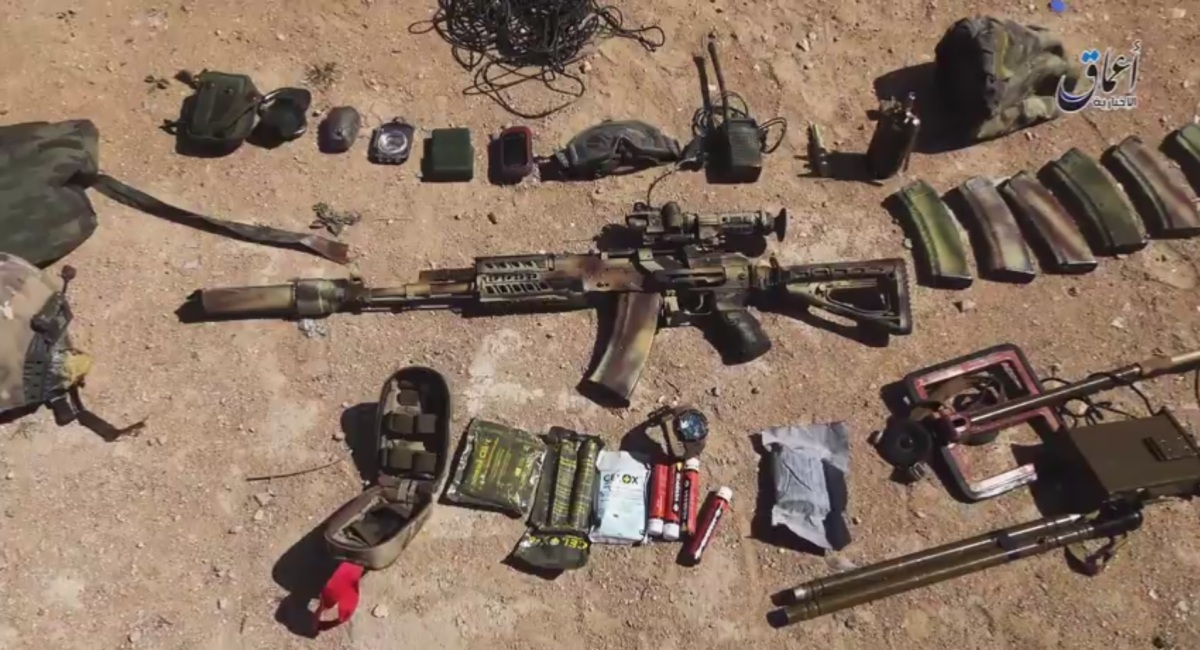 Russian SOF equipment captured in Syria | ARES