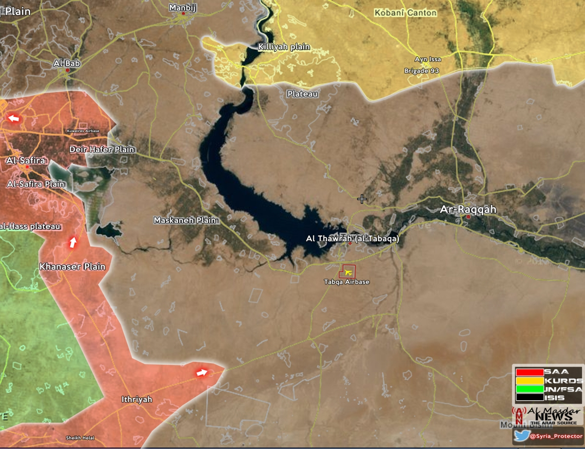 Syrian Arab Army & SDF advance against ISIS