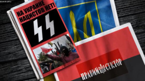 photo Right Sector wolfsangel