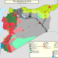 Syrian maps update