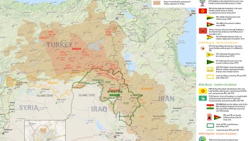 Iranian turkish friendship colonel cassad the fourth political and military factions in kurdistan map gumiabroncs Image collections