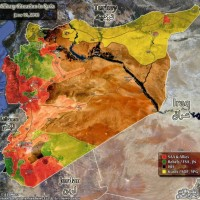 Complete battlefield report from Syria: map | Al-Masdar News
