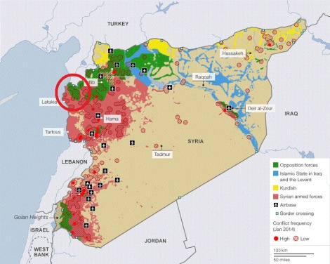Syria Iraq MAP Update The Fourth Revolutionary War - Syria map