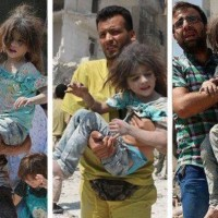 Oh this little Syrian girl is regularly saved by the White helmets | Colonel Cassad