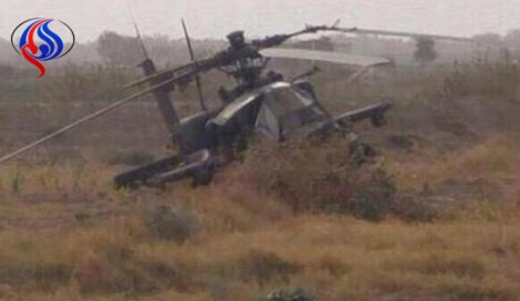 Yemeni Forces Shoot Down Saudi Apache Helicopter