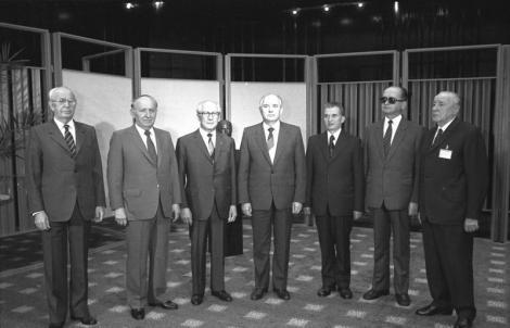Berlin, Tagung Warschauer Pakt, Gruppenfoto