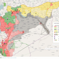 Syria Interactive conflict map (5 March 2017) | Agathocle de Syracuse