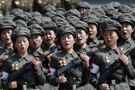North-Korea-Female-Battalion-Day-of-the-Sun
