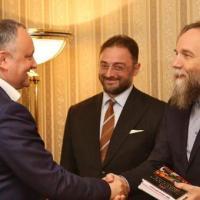 Alexander Dugin met with Moldovan President Igor Dodon