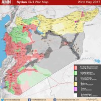 Full map of Syrian Conflict | AMN