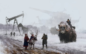 Jakub_Rozalski_Art_1920-dad-s-at-work-small1