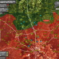 "The attack of ""al-Nusra"" in Northern Hama 